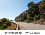 corsica  28 08 2017  the... | Shutterstock . vector #794234608