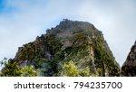 inca hilltop village | Shutterstock . vector #794235700