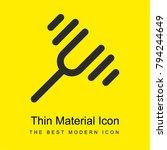 diapason bright yellow material ...