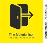 login bright yellow material... | Shutterstock .eps vector #794254018