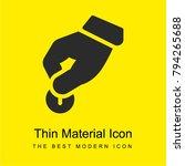donate bright yellow material...