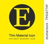 etsy logo bright yellow...