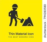 worker of construction working... | Shutterstock .eps vector #794283580