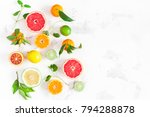 fruit background. colorful... | Shutterstock . vector #794288878