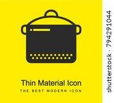 slow cooker bright yellow...   Shutterstock .eps vector #794291044