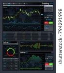 forex market app vector... | Shutterstock .eps vector #794291998