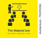 class group bright yellow... | Shutterstock .eps vector #794294284