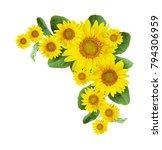 Sunflowers Corner Arrangement...