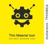 robocog logo of a robot with...   Shutterstock .eps vector #794308816