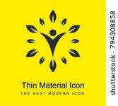 wellness logo bright yellow...