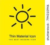 sun hand drawn symbol bright...