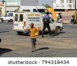 saint louis  senegal   apr 24 ... | Shutterstock . vector #794318434