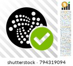 valid iota pictograph with 7... | Shutterstock .eps vector #794319094