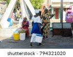 saint louis  senegal   apr 24 ... | Shutterstock . vector #794321020
