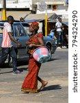 saint louis  senegal   apr 24 ... | Shutterstock . vector #794324290