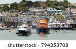 st peter port  guernsey ...   Shutterstock . vector #794353708