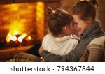 family mother and child... | Shutterstock . vector #794367844