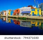 aveiro  portugal   december 23  ... | Shutterstock . vector #794371030