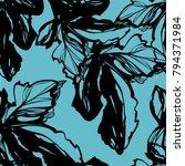 nifty gental flower botanical... | Shutterstock .eps vector #794371984