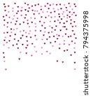 valentines day vector confetti... | Shutterstock .eps vector #794375998