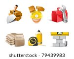 building icons   bella series | Shutterstock .eps vector #79439983
