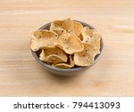 a bowl filled with corn... | Shutterstock . vector #794413093