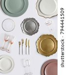 Tableware Decorations For Serving A - Fine Art prints