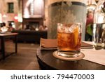 old fashioned cocktail | Shutterstock . vector #794470003