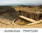 Greek Theatre Ruins In...