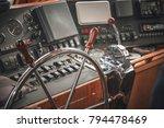 closeup of a metallic and... | Shutterstock . vector #794478469