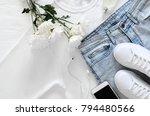 Womens Fashion White Clothing ...