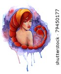 Illustration Of Zodiac Sign ...