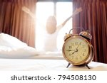 morning of a new day  alarm... | Shutterstock . vector #794508130