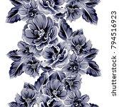 abstract elegance seamless... | Shutterstock . vector #794516923