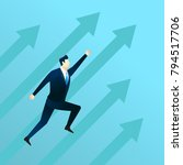 business illustration concept... | Shutterstock .eps vector #794517706