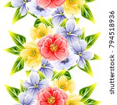 abstract elegance seamless... | Shutterstock .eps vector #794518936