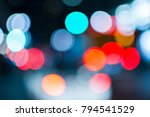 nightlife in downtown los... | Shutterstock . vector #794541529