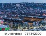 Night Lights Football Stadium...
