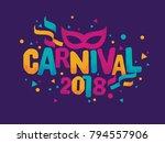 popular event in brazil.... | Shutterstock .eps vector #794557906