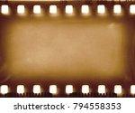 camera film frame vintage... | Shutterstock . vector #794558353