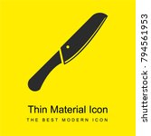 knife bright yellow material...   Shutterstock .eps vector #794561953