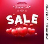 valentine's day  valentines... | Shutterstock .eps vector #794564980