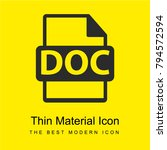 doc file format bright yellow...