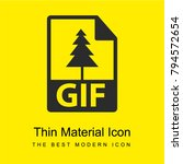 gif file format bright yellow...