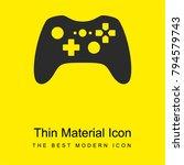 gamepad bright yellow material...