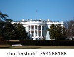 the truman balcony is the... | Shutterstock . vector #794588188