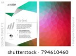 light green  red vector  layout ...