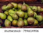 pear texture   organic ripe...   Shutterstock . vector #794614906