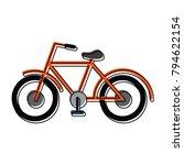 vintage bicycle symbol | Shutterstock .eps vector #794622154
