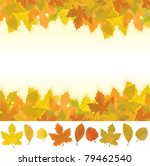 autumn background and... | Shutterstock .eps vector #79462540
